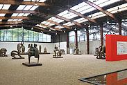 曾成钢雕塑德国展