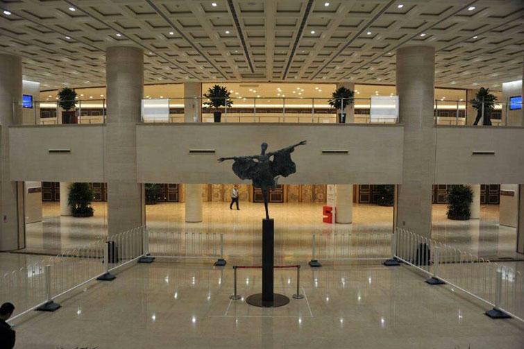 必威体育直播官网雕塑《中国风》